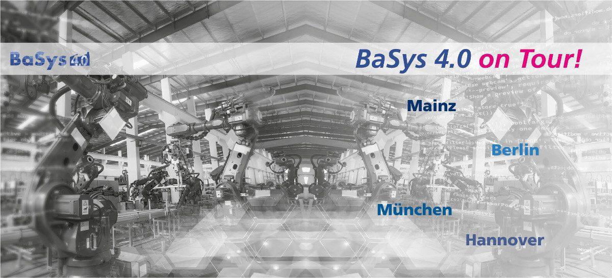 BaSys 4.0 on Tour Teil 2 – Weitere Industrie 4.0 Fördermöglichkeiten für KMUs!