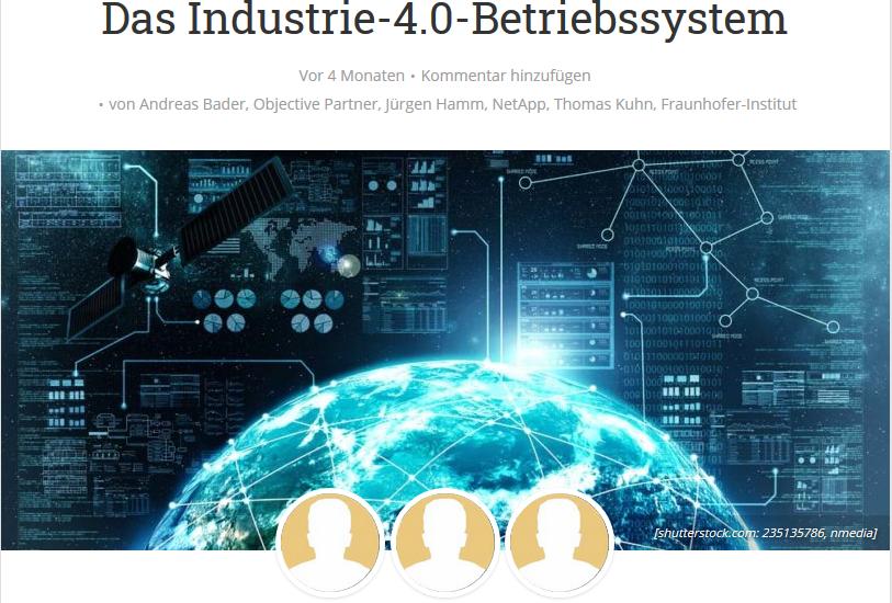 Das Industrie-4.0-Betriebssystem
